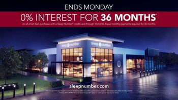 Sleep Number Fall Sale TV Spot, 'Weekend Special: Queen c4 Smart Bed: $1,399' - Thumbnail 8