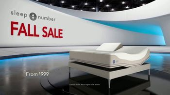 Sleep Number Fall Sale TV Spot, 'Weekend Special: Queen c4 Smart Bed: $1,399' - Thumbnail 1