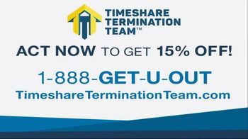Timeshare Termination Team TV Spot, 'Get 15% Off'