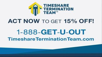 Timeshare Termination Team TV Spot, 'Get 15% Off' - Thumbnail 8