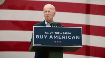 Biden for President TV Spot, 'American Manufacturing' - 2 commercial airings