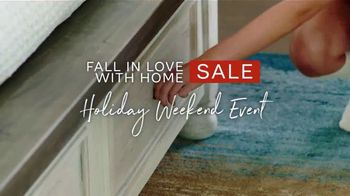 Ashley HomeStore Fall in Love With Home Sale TV Spot, 'Additional 10%: Special Financing' - Thumbnail 2