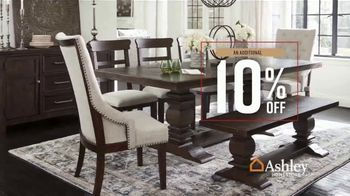 Ashley HomeStore Fall in Love With Home Sale TV Spot, 'Additional 10%: Special Financing' - Thumbnail 6