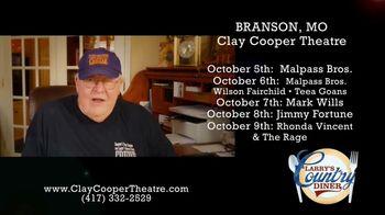 Clay Cooper Theatre TV Spot, 'October 2020: Malpass Bros., Mark Wills, Jimmy Fortune' - Thumbnail 7