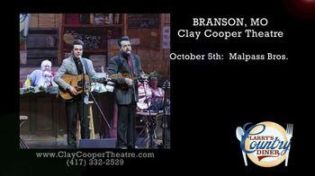 Clay Cooper Theatre TV Spot, 'October 2020: Malpass Bros., Mark Wills, Jimmy Fortune' - Thumbnail 2