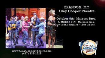 Clay Cooper Theatre TV Spot, 'October 2020: Malpass Bros., Mark Wills, Jimmy Fortune' - Thumbnail 3
