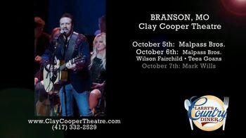 Clay Cooper Theatre TV Spot, 'October 2020: Malpass Bros., Mark Wills, Jimmy Fortune' - Thumbnail 4