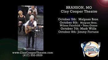 Clay Cooper Theatre TV Spot, 'October 2020: Malpass Bros., Mark Wills, Jimmy Fortune' - Thumbnail 5