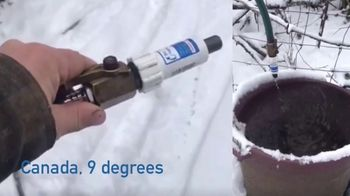 Freeze Miser TV Spot, 'Winterizing Your Outdoor Faucets' - Thumbnail 4