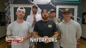 National Hunting and Fishing Day TV Spot, 'Chairdudes' Featuring Dude Perfect - 2 commercial airings
