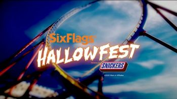Six Flags Hallow Fest TV Spot, 'Day Thrills, Night Chills: Save Up to 70% on 2021 Season Passes' - Thumbnail 2