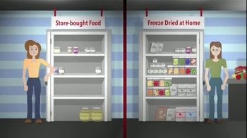 Harvest Right TV Spot, 'Freeze Dryer vs. Store-bought Freeze Dried Food'