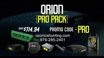 Ozonics Hunting Orion Pro Pack TV Spot, 'Be Undetectable' - Thumbnail 10