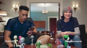 Roman TV Spot, 'NFL: Bobbleheads' Song by Ian Post