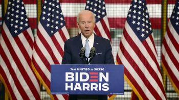 Biden for President TV Spot, 'Laser Focused' - 111 commercial airings