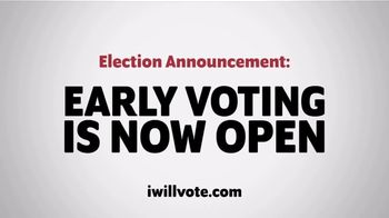 The Democratic National Committee TV Spot, 'Early Voting Is Now Open: Michigan'