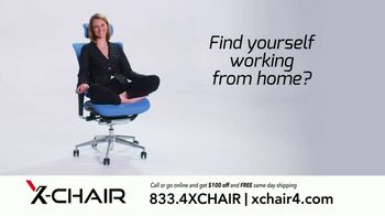 X-Chair TV Spot, 'Behind the World's Most Productive People: Working From Home' - Thumbnail 7