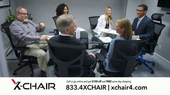 X-Chair TV Spot, 'Behind the World's Most Productive People: Working From Home' - Thumbnail 9