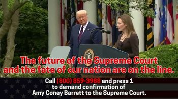 Great America PAC TV Spot, 'Confirm Amy Coney Barrett Without Delay'
