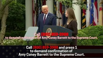 Great America PAC TV Spot, 'Confirm Amy Coney Barrett Without Delay' - Thumbnail 10