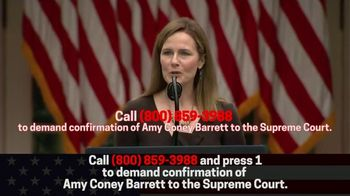 Great America PAC TV Spot, 'Confirm Amy Coney Barrett Without Delay' - Thumbnail 7