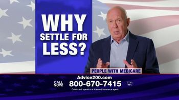 eHealthInsurance Services TV Spot, 'Why Settle for Less?' Featuring Dann Florek - 139 commercial airings
