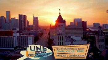 2021 Cattle Industry Convention & NCBA Trade Show TV Spot, 'Tune In to Tennessee'