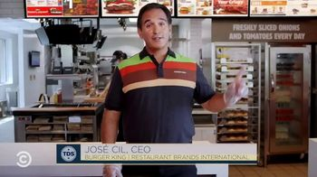 Burger King TV Spot, 'Comedy Central: Fact Checking' Featuring Roy Wood Jr. - Thumbnail 4