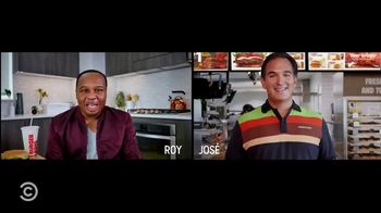 Burger King TV Spot, 'Comedy Central: Fact Checking' Featuring Roy Wood Jr. - 3 commercial airings