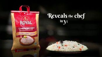 Authentic Royal Chef's Secret Extra Long Grain Basmati Rice TV Spot, 'Secret Ingredients'