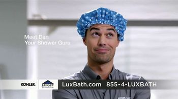 Kohler LuxStone TV Spot, 'Shower Guru: Dan: $1,000 Off'
