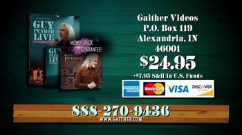 Gaither Music Group TV Spot, 'Guy Penrod Live'