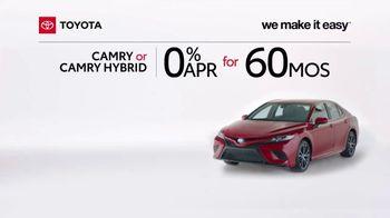 2020 Toyota Camry TV Spot, 'A Big Step' [T2] - Thumbnail 1