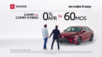 2020 Toyota Camry TV Spot, 'A Big Step' [T2] - Thumbnail 3