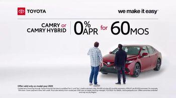2020 Toyota Camry TV Spot, 'A Big Step' [T2] - Thumbnail 4