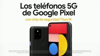 Google Pixel 5 TV Spot, 'Sobreprotector de datos: $499 dólares' [Spanish]