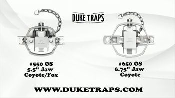 Duke Traps TV Spot, 'The Most Complete Line in the World' - Thumbnail 6