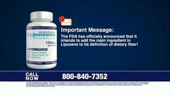 Lipozene TV Spot, 'Important Message: FDA' - Thumbnail 1