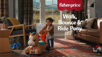 Fisher-Price Walk, Bounce & Ride Pony TV Spot, 'Giant Baby'