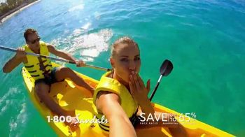 Sandals Resorts TV Spot, 'You Can Only Anything: 65%'