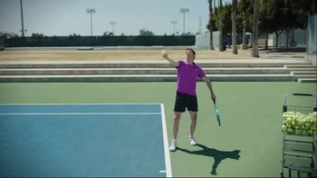 Tennis Channel TV Spot, 'One Minute Clinic: Down Together' - Thumbnail 7