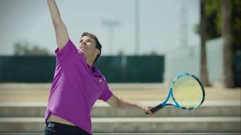 Tennis Channel TV Spot, 'One Minute Clinic: Down Together' - Thumbnail 8