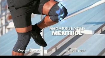 Copper Fit Ice Knee Sleeves TV Spot, 'Motion Activated Menthol' Featuring Brett Favre, Jerry Rice - Thumbnail 4