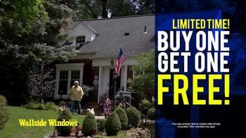 Wallside Windows TV Spot, 'Buy One, Get One Free: Five Years No Interest'