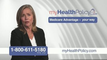 My Health Policy TV Spot, \'Complicated and Confusing\' Featuring Meredith Vieira
