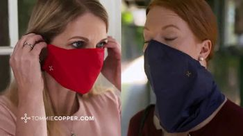Tommie Copper Face Mask TV Spot, 'Be Comfortable: Available for Kids'