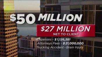 Thomas J. Henry Injury Attorneys TV Spot, 'Results' - Thumbnail 4