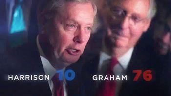 Jaime Harrison for U.S. Senate TV Spot, 'Unseat Graham' - Thumbnail 4