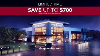 Sleep Number Veterans Day Sale TV Spot, 'Temperature Balance: Save up to $700' - Thumbnail 8