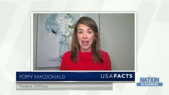 USAFacts TV Spot, 'Nation in Numbers' - Thumbnail 3